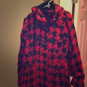Girls Dress/Casual Peacoat w/ Hood